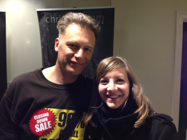 Chris Packham and me colour