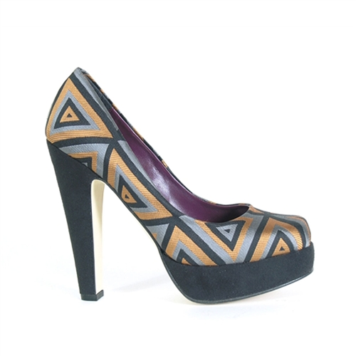 Beyond Skin ROSA-BLK-2T heel crazy style