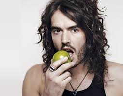 Russell Brand and apple