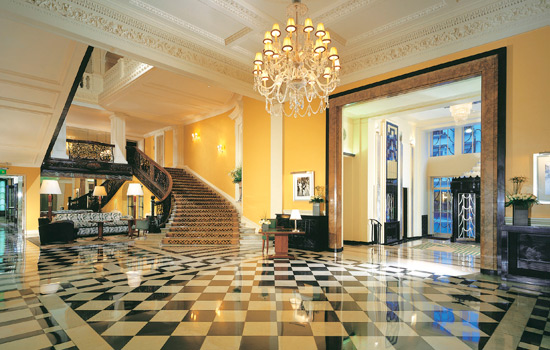 claridges entrance hall