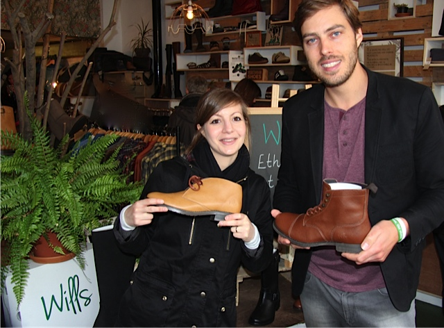 TheAllAnimalVegan with Wills Vegan Shoes