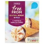 Tesco vegan cornetto ice-cream