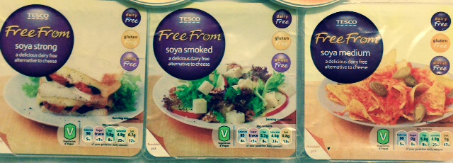 Tesco vegan cheese