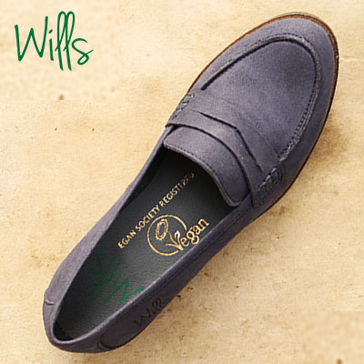 Wills Vegan Shoes - court-shoe-in-marine-1