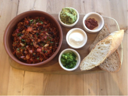 LPQ - Chili sin carne (CHISWICK ONLY)